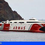 El Silbo de El Hierro estará presente en los buques de Naviera Armas Trasmediterránea