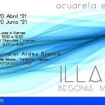 San Miguel | ILLAQUE, la exposición de acuarela escultórica que juega con las diferentes tonalidades del agua