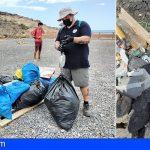 Arico | Promemar recogió 75 kilos de basura en el Campamento Punta del Sordo en Tajao