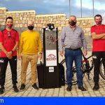 San Miguel coloca 5 pequeñas estaciones para la reparación de bicicletas en caso de urgencia