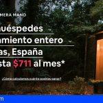 Canarias, destino donde los nuevos anfitriones reciben más reservas durante su primera semana en Airbnb