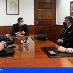 Arona se reunió con el comisario jefe de la Policía Nacional de Playa de las Américas