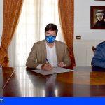 Stgo. del Teide y Caixabank firman un convenio para facilitar el pago de tributos municipales