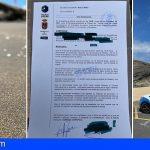 Vecinos de Granadilla denuncian vertidos, al parecer fecales, en Playa de Pelada