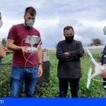 Agricultura adquiere tres drones multiespectrales para controlar posibles daños en los viñedos