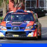 Tenerife | Félix Brito y Samuel Martín,  sextos en el Rallye Orvecame Norte