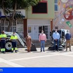 Granadilla amplía su flota de vehículos para la limpieza viaria y el mantenimiento de espacios públicos y playas
