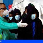Ayer llegaron 23 migrantes a la costa de Granadilla, 4 resultaron fallecidos