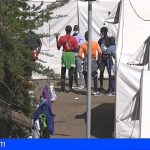 NC de Tenerife exige el cierre de los campamentos de migrantes de Las Raíces y Las Canteras