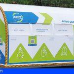 Tenerife | Maderas y aparatos eléctricos destacan entre las casi 40 toneladas de residuos recogidos en los minipuntos limpios