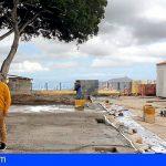 San Miguel | Avanzan a buen ritmo las obras de rehabilitación de la plaza anexa a la Parroquia Matriz