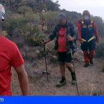 Adeje | Rescatan a un senderista fatigado en Caldera del Rey