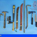 Diez detenidos en Santa Cruz por participar en una riña con blancas y objetos peligrosos en la vía pública
