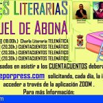 Tardes literarias en San Miguel de Abona