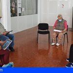 Mayores de San Miguel se benefician del programa Tenerife CUIDA, para combatir la brecha digital por la pandemia