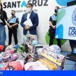 Tenerife | La Policía Local decomisa miles de productos falsificados en un almacén de la capital