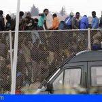 AEGC condena el apedreamiento violento de miles de marroquies a Guardias Civiles en la frontera de Ceuta