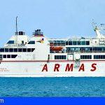 Naviera Armas restablece el servicio entre Lanzarote y Fuerteventura