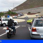 Arona | Un herido moderado en una colisión coche-moto en la TF-66, a la altura de Guaza