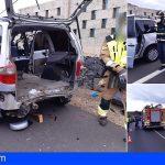 Arona | Seis personas resultan heridas en una colisión de dos vehículos en en la TF-66