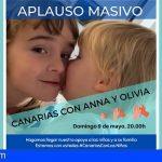 Canarias | Un aplauso masivo este domingo a las 20.00h por Anna y Olivia