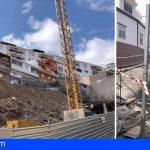 CC-PNC de Stgo. del Teide denuncia la parálisis de la reconstrucción de la C/ El Carmen a tres meses del derrumbe