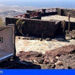 CC-PNC de Arona denuncia el abandono en el que se encuentra el Mirador de La Centinela