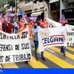 Los trabajadores de JSP se concentrarán el próximo 8 de Mayo frente a las sedes del Gobierno de Canarias
