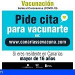 Covid-19 | Residentes canarios pueden pedir cita para la vacunación a través de un formulario web