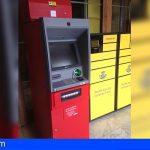 Las oficinas de Correos en Las Galletas y Las Américas ya disponen de cajero automático
