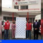 120 familias del sur de Tenerife cubren sus necesidades básicas gracias a Cruz Roja y La Caixa