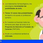 Canarias | 'Comprometerse a dejar el tabaco' en el Día Mundial Sin Tabaco