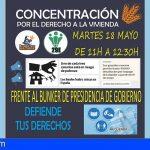 Siguen los fondos buitre desahuciando a familias en Tenerife, sin piedad