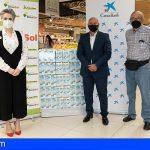 Fundación DinoSol dona 3.400 litros de leche para la campaña solidaria #NingúnHogarSinAlimentos