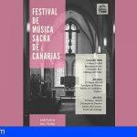 El Festival de Música Sacra de Canarias llega a Santiago del Teide