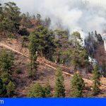 El incendio en Arico ya se encuentra estabilizado, 42 kilómetros y 3.029 hectáreas afectadas
