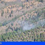 Se da por controlado el incendio forestal de Arico