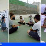 San Miguel | Jornada lúdico-deportiva para promocionar los Derechos de la Infancia en el CEIP Aldea Blanca