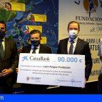 """Fundación """"la Caixa"""", CaixaBank y Loro Parque Fundación colaborarán para impulsar la educación ambiental"""