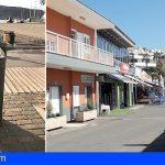 Arona renueva las papeleras del paseo marítimo entre Los Cristianos y Playa de Las Américas