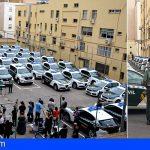 La Guardia Civil renueva en Canarias el 26% de la flota vehículos bicolores