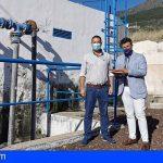 Inician la rehabilitación de los depósitos y canalización de agua en Arafo