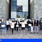Adeje | Las 15 personas del PFAE Barest finalizan el convenio y reciben su certificado de profesionalidad