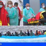 Llega una patera con 51 personas al Puerto de Los Cristianos