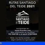 Stgo. del Teide oferta un amplio programa de actividades de senderismo hasta final de año