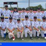 La selección canaria de béisbol sub13, subcampeona de España