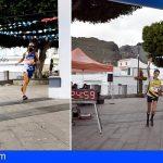 Stgo. del Teide | Domantas Kavaliauskas y Sandra Trujillo ganadores, en 14km, del Trail Run Almendros y Volcanes