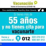 Residentes en Gran Canaria y Tenerife de entre 50 y 59 años podrán acceder a su cita para vacunarse a través del SCS