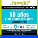 Más de 100.000 canarios se inscriben en el formulario web para recibir la vacuna contra la COVID-19