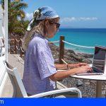 Canarias consigue incrementar en un 10% mensual la llegada de teletrabajadores a las Islas